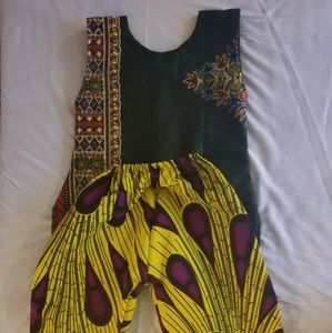 African dashiki suits and 100% cotton